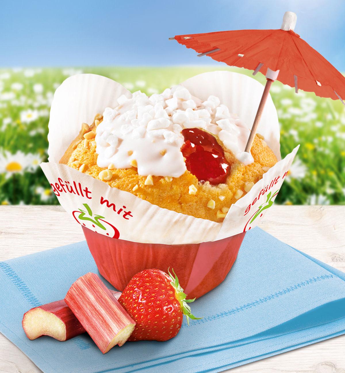 Erdbeer Muffin - Erdbeerzeit bei Back-Company