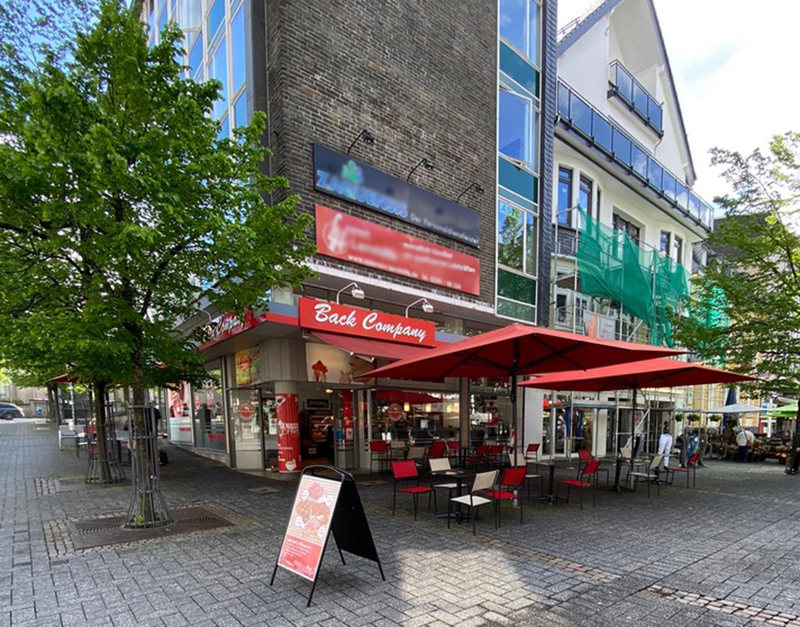 Back Company Gummersbach Außenterasse
